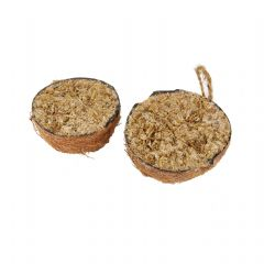 Half Coconut - Twin Pack - Mealworm